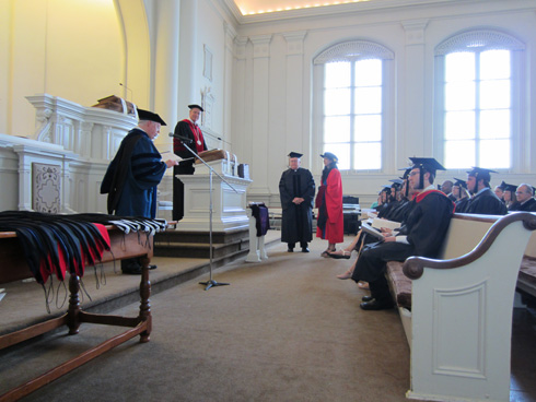 Moravian Theological Seminary Commencement